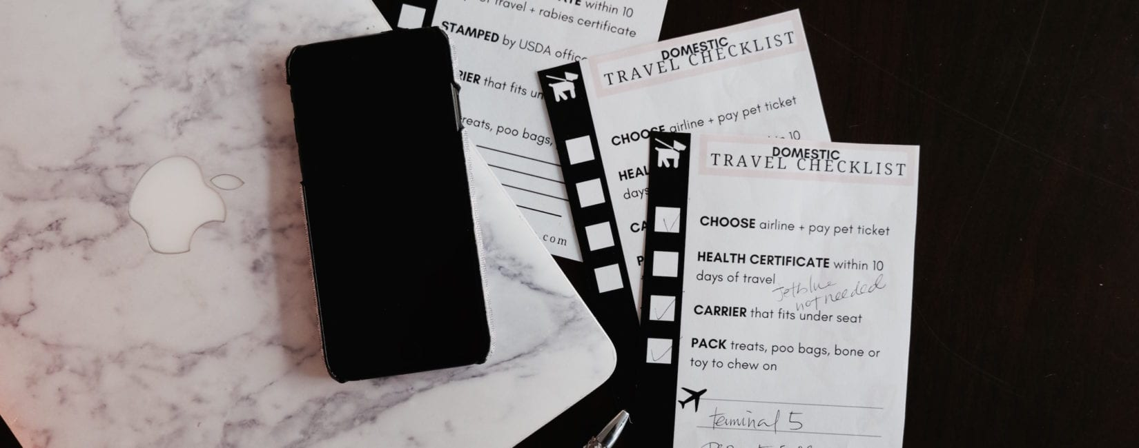 FREE Domestic + International Travel Checklists