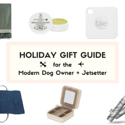 The Holiday Gift Guide for the Modern Dog Owner + Jetsetter
