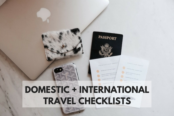 travel checklist traveling with dog