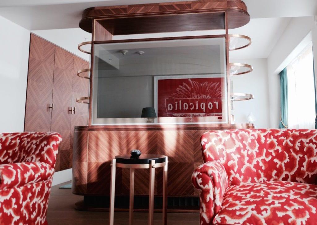 faena hotel room design