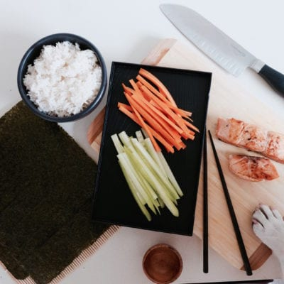 Make Your Own Sushi The Dogs Can Eat!