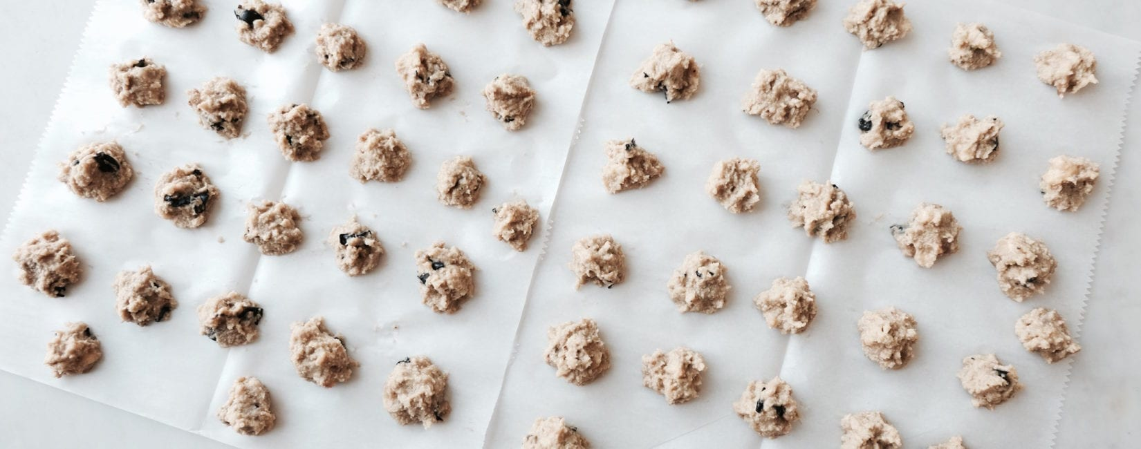 Grain Free PB+J Cookie Recipe + Our Fave Dog Treats