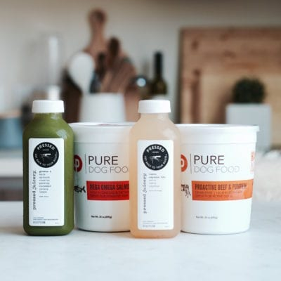 Meal Planning 101 + GIVEAWAY: Pressed Juicery + Pure Dog Food